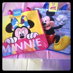 ‼️SALE‼️NWT Disney Mickey & Minnie  Shopping Bags